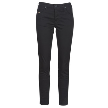 vaatteet Naiset Slim-farkut Diesel BABHILA Black / 069ei