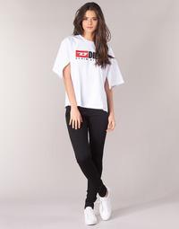 vaatteet Naiset Skinny-farkut Diesel SLANDY Musta / 069ef