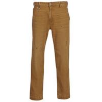 vaatteet Miehet Chino-housut / Porkkanahousut Diesel P MADOX DNM Camel