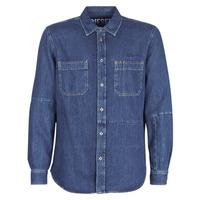 vaatteet Miehet Pitkähihainen paitapusero Diesel D FRED Blue