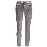 vaatteet Naiset Slim-farkut Diesel BABHILA Grey / 069fk
