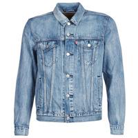 vaatteet Miehet Farkkutakki Levi's THE TRUCKER JACKET Blue