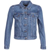 vaatteet Naiset Farkkutakki Levi's ORIGINAL TRUCKER Blue