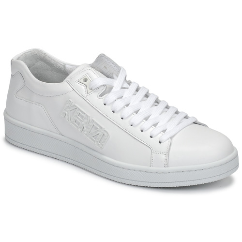 kengät Miehet Matalavartiset tennarit Kenzo TENNIX White