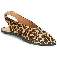 kengät Naiset Balleriinat Jonak APIO Leopardi