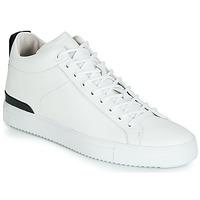 kengät Miehet Matalavartiset tennarit Blackstone RM14 White