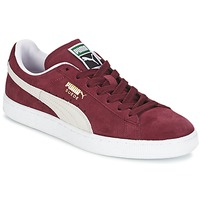 kengät Matalavartiset tennarit Puma SUEDE CLASSIC Bordeaux