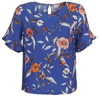 vaatteet Naiset Topit / Puserot Cream ALLY Blue