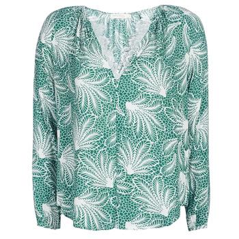 vaatteet Naiset Topit / Puserot See U Soon GARAGAVE Green / White