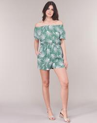 vaatteet Naiset Jumpsuits / Haalarit See U Soon GARAGABE Green / White