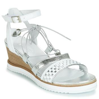 kengät Naiset Sandaalit ja avokkaat Regard RAXAF V1 TRES ALFA BLANC White