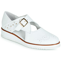 kengät Naiset Derby-kengät Regard RIXALO V1 NAPPA BLANC White