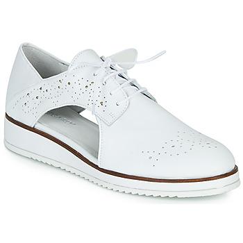 kengät Naiset Derby-kengät Regard RIXAMU V1 NAPPA BLANC Black
