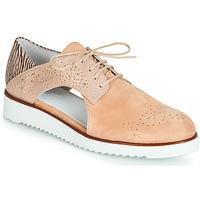 kengät Naiset Derby-kengät Regard RIXULO V1 VEL ROSE Vaaleanpunainen