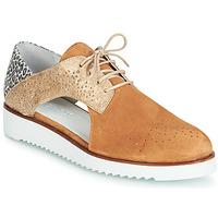 kengät Naiset Derby-kengät Regard RIXULO V3 VEL CAMEL Brown