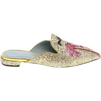 kengät Naiset Puukengät Chiara Ferragni CF1842 GLITTER ORO oro