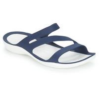 kengät Naiset Rantasandaalit Crocs SWIFTWATER SANDAL W Laivastonsininen