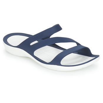 kengät Naiset Sandaalit ja avokkaat Crocs SWIFTWATER SANDAL W Laivastonsininen