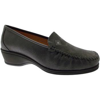 kengät Naiset Mokkasiinit Calzaturificio Loren LOK3992gr grigio
