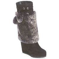 kengät Naiset Saappaat Sebastian NIGOK Black