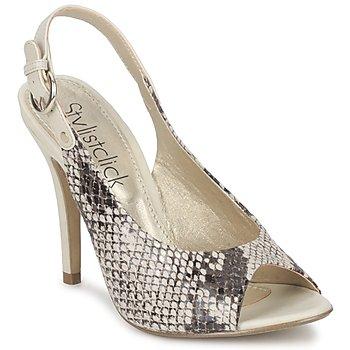 kengät Naiset Sandaalit ja avokkaat StylistClick RUTH Beige / Celadon