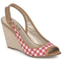 kengät Naiset Sandaalit ja avokkaat StylistClick INES Jude / Luonnollinen / Red