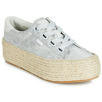 kengät Naiset Matalavartiset tennarit MTNG WANDA Hopea