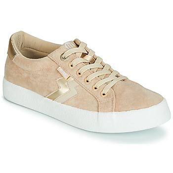 kengät Naiset Matalavartiset tennarit MTNG ROLLING Beige