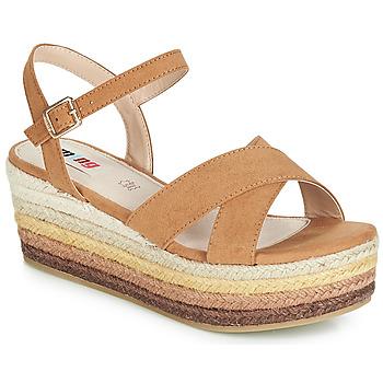 kengät Naiset Sandaalit ja avokkaat MTNG SOCOTRA3 Brown