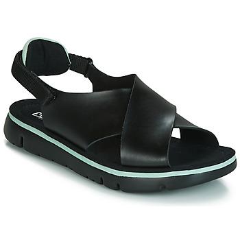 kengät Naiset Sandaalit ja avokkaat Camper ORUGA Musta