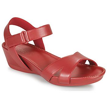 kengät Naiset Sandaalit ja avokkaat Camper Micro Punainen