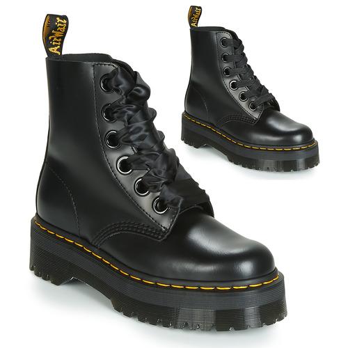 kengät Naiset Bootsit Dr Martens Molly Black
