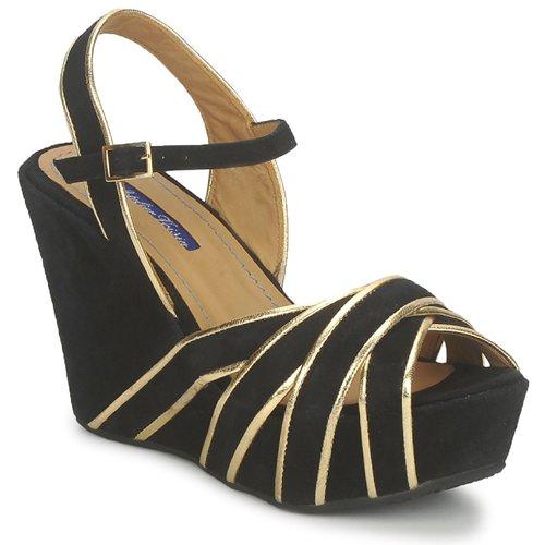 kengät Naiset Sandaalit ja avokkaat Atelier Voisin FACTOR Black