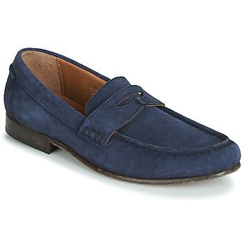kengät Miehet Mokkasiinit Hudson SEINE Blue
