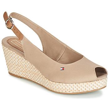 kengät Naiset Sandaalit ja avokkaat Tommy Hilfiger ELBA 39D2 Beige