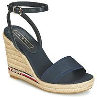 kengät Naiset Sandaalit ja avokkaat Tommy Hilfiger ELENA 78C1 Laivastonsininen