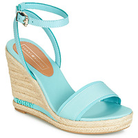kengät Naiset Sandaalit ja avokkaat Tommy Hilfiger ELENA 78C Blue / Ciel