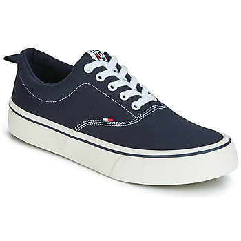kengät Miehet Matalavartiset tennarit Tommy Jeans VIRGIL 1D Black