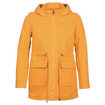 vaatteet Naiset Paksu takki Moony Mood JANTO Yellow