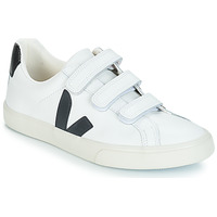 kengät Matalavartiset tennarit Veja 3-LOCK LOGO White / Black