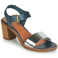 kengät Naiset Sandaalit ja avokkaat Casual Attitude JALAYEVE Blue / Hopea
