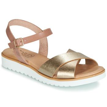 kengät Naiset Sandaalit ja avokkaat Casual Attitude JALAYEDE Pink / Kulta