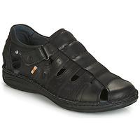 kengät Miehet Sandaalit ja avokkaat Casual Attitude JALAYIME Black