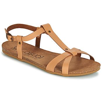 kengät Naiset Sandaalit ja avokkaat Casual Attitude JALIYAXE Camel