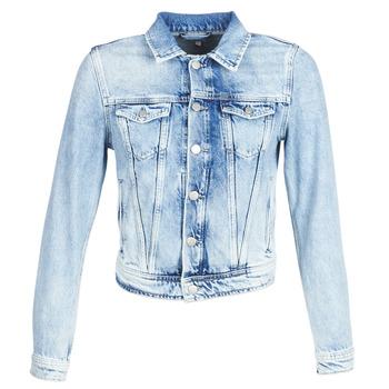 vaatteet Naiset Farkkutakki Pepe jeans CORE Blue / Clair
