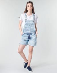 vaatteet Naiset Jumpsuits / Haalarit Pepe jeans ABBY Sininen