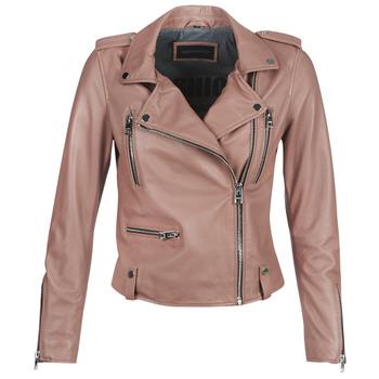 vaatteet Naiset Nahkatakit / Tekonahkatakit Oakwood NIGHT Pink