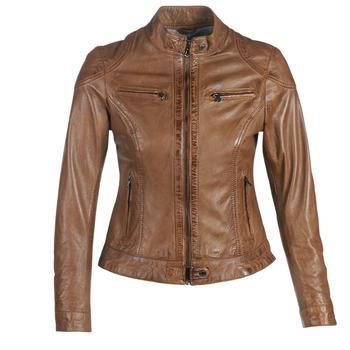 vaatteet Naiset Nahkatakit / Tekonahkatakit Oakwood LINA Cognac