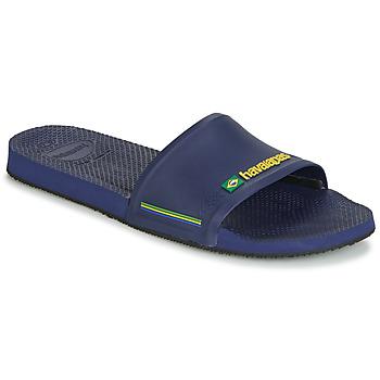 kengät Miehet Rantasandaalit Havaianas SLIDE BRASIL Sininen