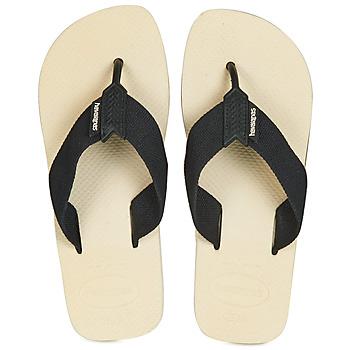 kengät Miehet Varvassandaalit Havaianas URBAN BASIC Beige